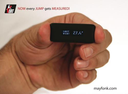 VERT jump device! (PRNewsFoto/Mayfonk Athletic) (PRNewsFoto/MAYFONK ATHLETIC)