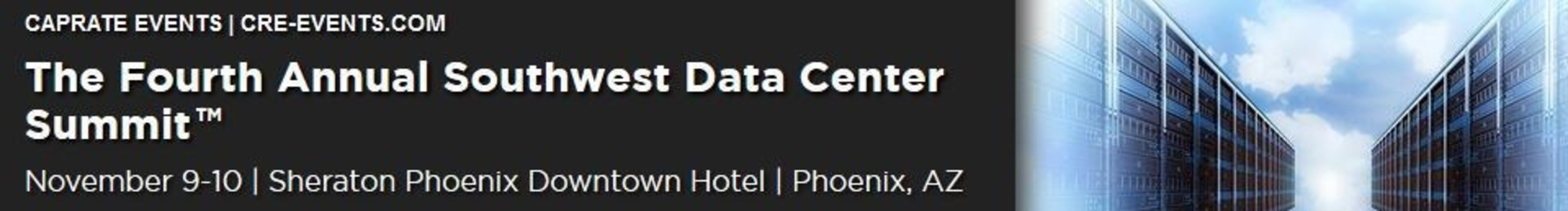 Attendance Builds for Southwest Data Center Summit; Announcing Opening Night Reception at IO Phoenix