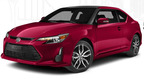 The 2014 Scion tC has more horsepower and a faster zero-to-60 mph time than the Honda Civic. The new tC also features a more aggressive look than the Civic as well.  (PRNewsFoto/Scion of Naperville)