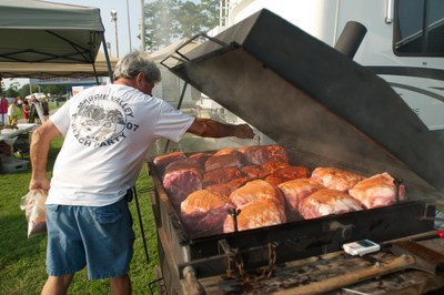 The Ninth Annual Beach, Boogie & BBQ Festival returns this fall to the Grand Strand on Aug. 29 and Aug. 30. The festival is offering $13,000 in cash prizes to the winners of the official barbecue championship of South Carolina. (PRNewsFoto/Myrtle Beach Area Chamber)