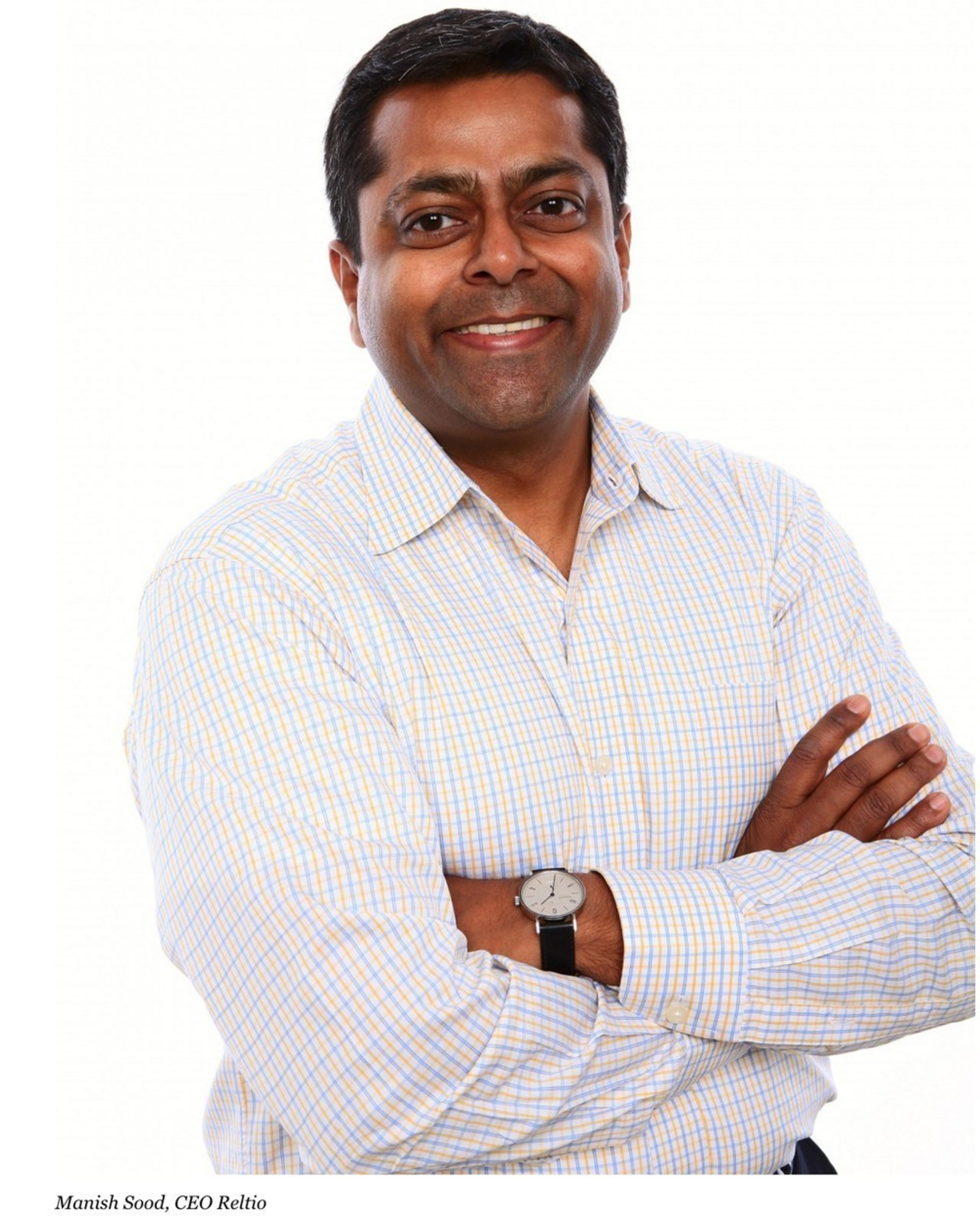 Manish Sood, founder and CEO, Reltio