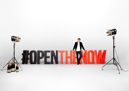 MOET INVITES YOU TO #OPENTHENOW (PRNewsFoto/Moet & Chandon) (PRNewsFoto/Moet & Chandon)