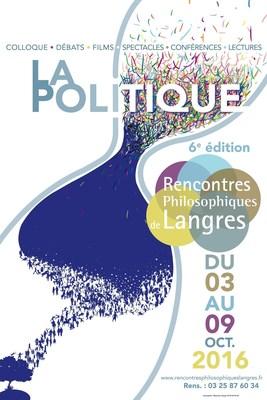 (C)Les Rencontres Philosophiques de Langres 2016 (PRNewsFoto/Alambret Communication)