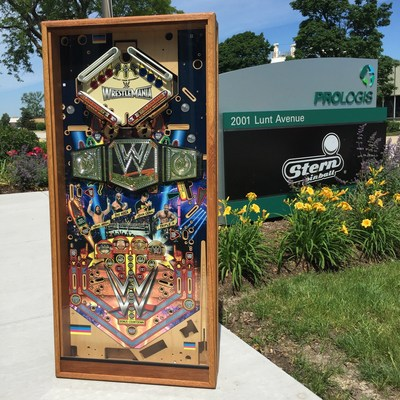 "Stern Pinball Announces ""King of the Ring"" WWE(R) WrestleMania Pinball Tournament"