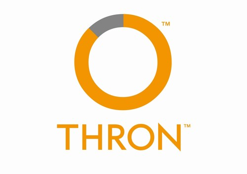 THRON Logo (PRNewsFoto/THRON)