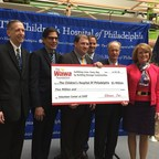 The Children's Hospital of Philadelphia (CHOP) announces the opening of the new Wawa Volunteer Center, funded by a $5 million philanthropic gift from The Wawa Foundation.