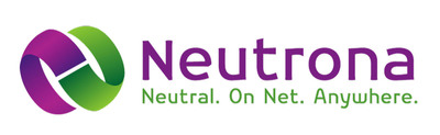 The Neutrona Dual Link Logo is our new brand image and signifies the joining of partners, the interconnection of networks, and the fusion of cultures. The deep purple represents the royal treatment we give our carrier partners and their end customers, and the electric green represents our company's energy, innovation and creative thinking. The Neutrona Dual Link Logo also represents the network Duality(R) concept of building our international network backbone over multiple submarine networks with at least two diverse cable systems connecting each international gateway city.  (PRNewsFoto/Neutrona Networks International LLC)