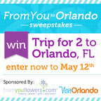 From You Flowers and Visit Orlando Launch the Ultimate Mother's Day Sweepstakes