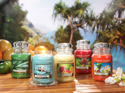 Yankee Candle Launches New Exotic Escape-Inspired Collection for Spring 2014