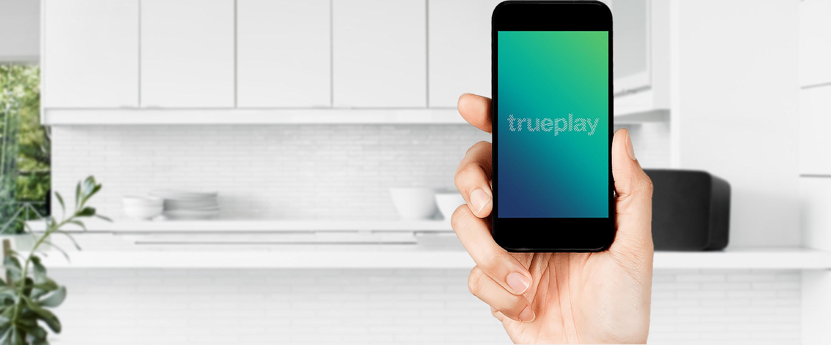 Sonos Trueplay bringt einfaches Lautsprecher-Tuning in Millionen Räume auf der ganzen Welt