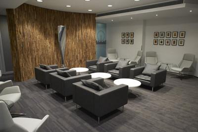 Delta Arrivals Lounge Main Area