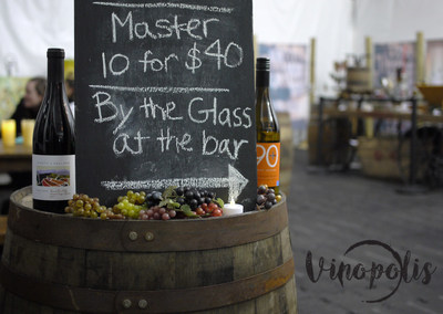Vinopolis at Boston Winter, featuring wines by 90+ Cellars