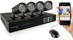 Amcrest HD 720P/1080P HD-CVI Security Systems - Kit features easy DIY assembly. SIMPLE, RELIABLE, SECURE.
