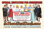 Special Invitation for Businesses (PRNewsFoto/InTownBestDeals.com)