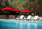 The Washington Dulles Airport Marriott has announced a limited-time poolside package designed for Washington, D.C., vacationers. The Take A Dip Package includes deluxe overnight accommodations, complimentary high-speed Internet, access to the hotel's indoor and outdoor swimming pools and a $20 dining credit for Aviate Bar & Grille. For information, visit www.marriott.com/IADAP or call 1-703-471-9500. (PRNewsFoto/WA Dulles Airport Marriott)