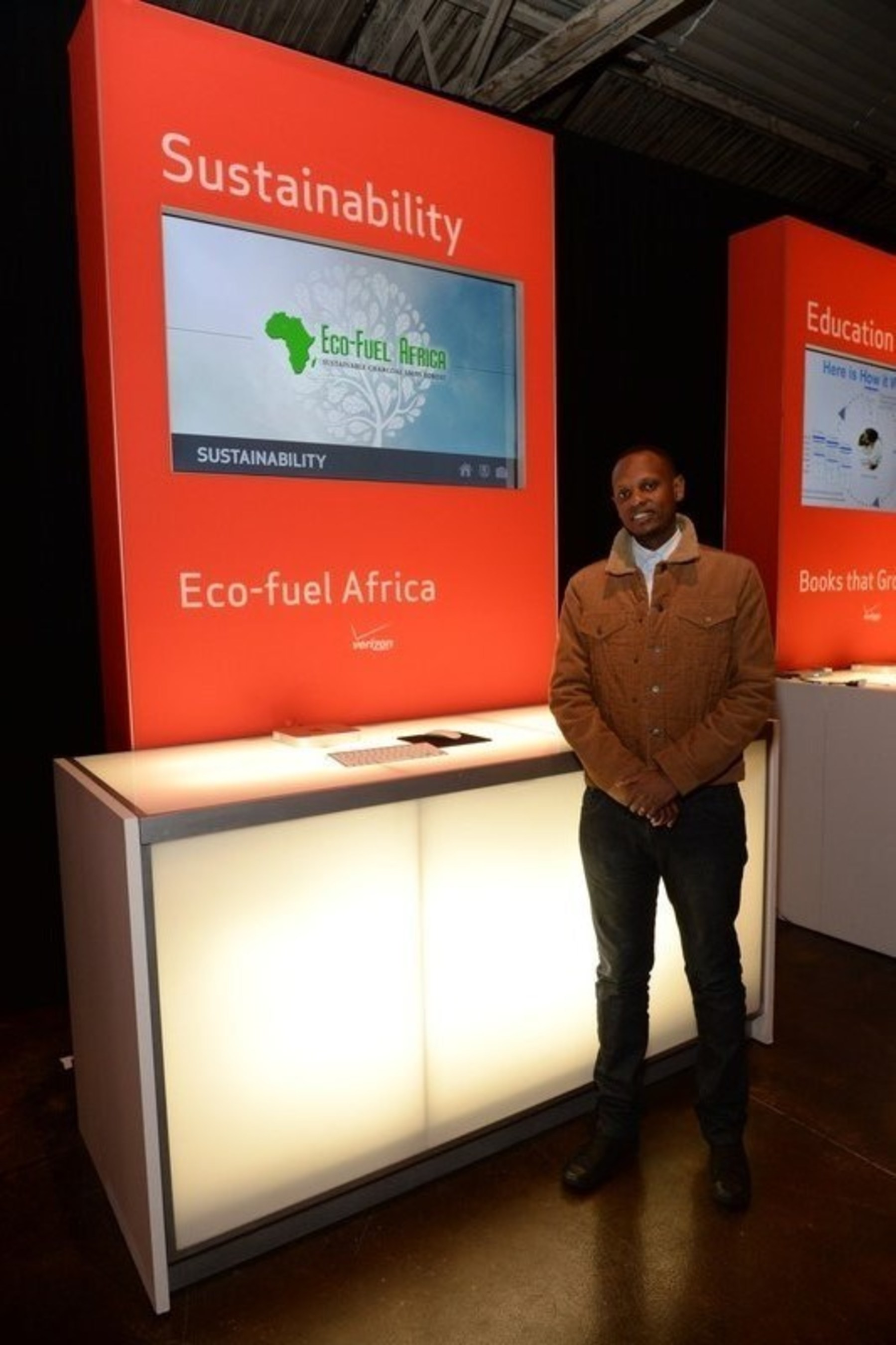"""$1M Winner in the sustainability category: Eco-fuel Africa is committed to fueling an environmentally and financially sustainable Africa. According to Eco-fuel Africa, 2 billion tons of biomass are burned each year, leading to unsustainable levels of deforestation and CO2 emissions. To solve this problem, Eco-fuel Africa, based in Kampala, Uganda, has created """"green"""" charcoal produced from agricultural waste that's 65% cheaper than charcoal from wood and burns clearer and longer than wood-based fuels. The fuel reduces the rate of deforestation, creates sustainable local jobs, saves money and reduces indoor air pollution."""