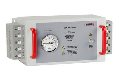 Teseq Offers New 100 A, 3-phase Burst Pulse CDN for EFT Testing. (PRNewsFoto/Teseq Inc.) (PRNewsFoto/TESEQ INC.)