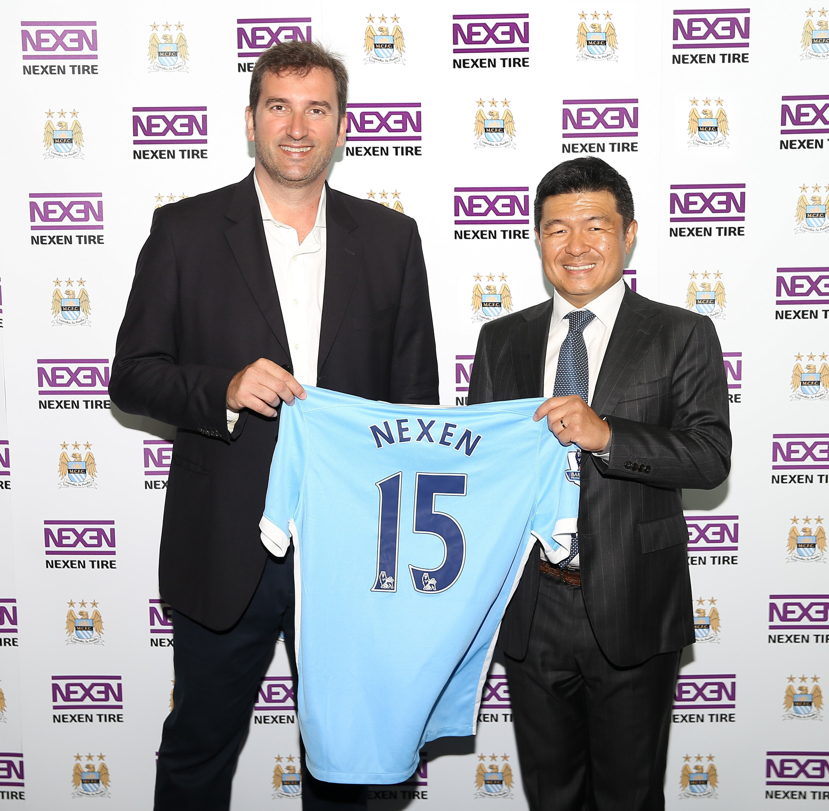 Nexen Tire assina parceria oficial para pneus com o Manchester City Football Club