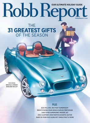 Robb Report Unveils Ultimate Holiday Gift Guide In December Issue