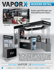 Vapor Corp.'s new VaporX modern 'authorized dealer' retail concepts.  (PRNewsFoto/Vapor Corp.)