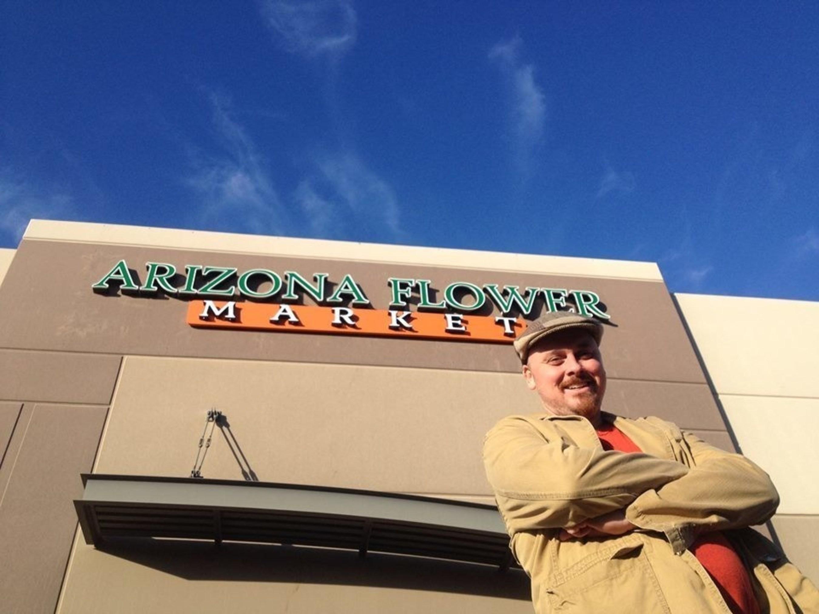 Brent Denham Manager of Arizona Flower Market