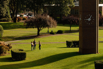 George Fox University again ranks among the top 10 Christian colleges in the nation, according to Forbes.  (PRNewsFoto/George Fox University)