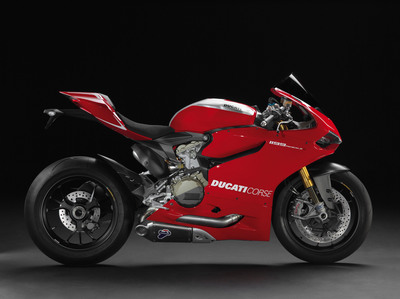 High demand for Ducati's flagship Superbike the 1199 Panigale greatly contributed to the company's sales record.  (PRNewsFoto/Ducati North America)