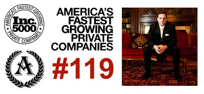 Astoria Company #119 of America's Fastest Growing Privately Owned Companies