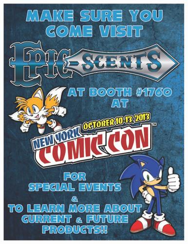 Epic-Scents ComicCon flyer (PRNewsFoto/Epic-Scents)