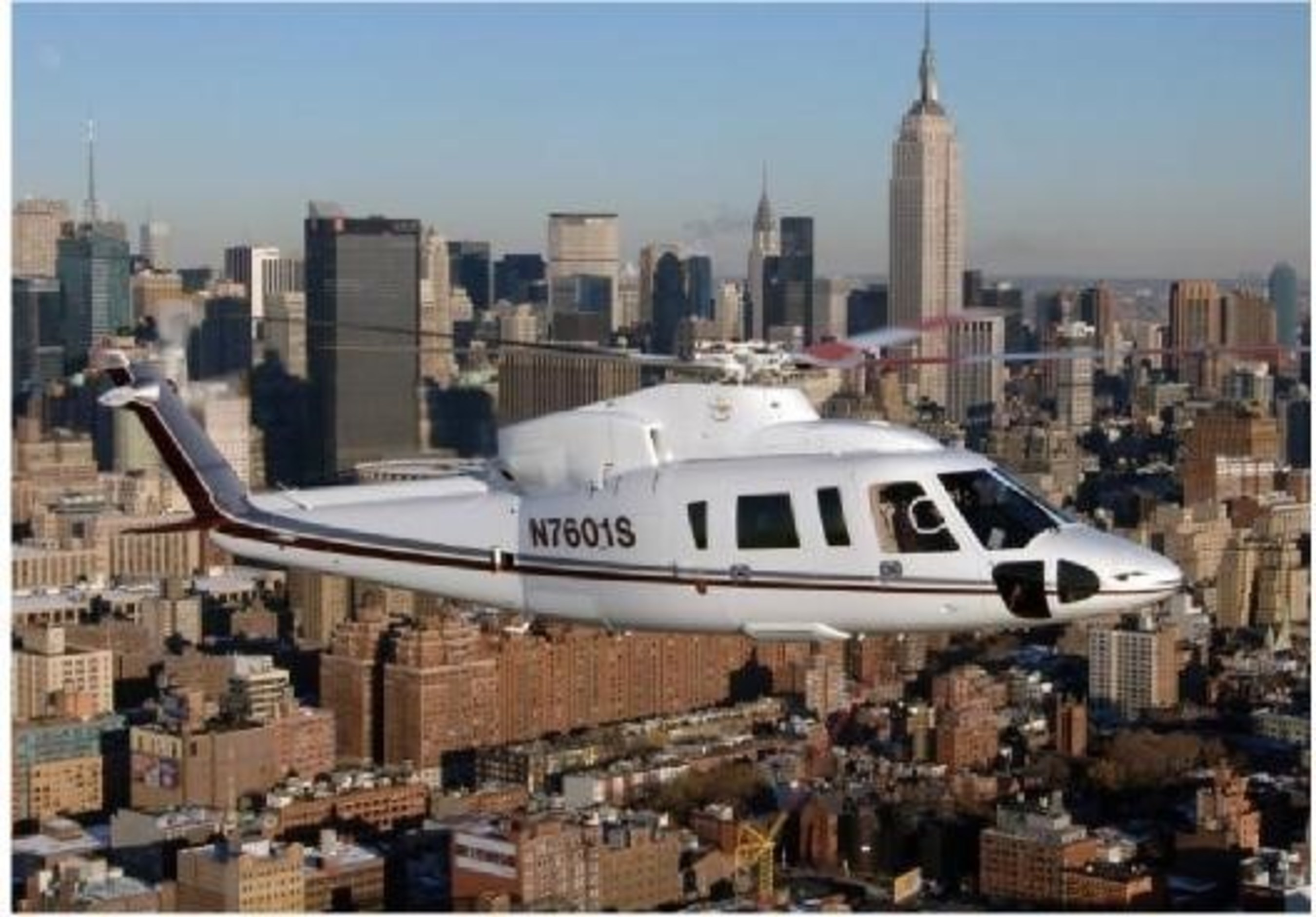 Sikorsky is producing airframe kits to upgrade the S-76C+(TM) helicopter to S-76C++(TM) capability.