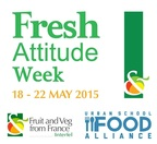 The Urban School Food Alliance celebrates Fresh Attitude Week in collaboration with the French Department of Agriculture and in partnership with Interfel (French Inter-Branch Association of Fresh Fruits and Vegetables which created Fresh Attitude Week) from May 18-22, 2015.