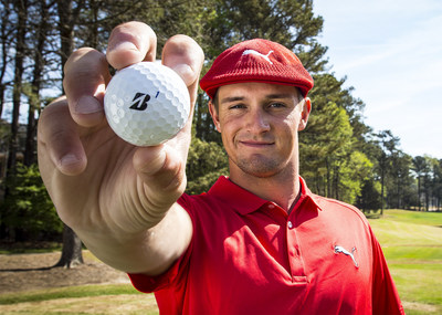 Bridgestone Golf, the #1 ball-fitter in golf and a recognized industry innovator, announced today it has signed rising star Bryson DeChambeau to its premier lineup of Tour players using Bridgestone's premium golf balls. When DeChambeau takes the course as a pro for the first time on Thursday at the RBC Heritage in Hilton Head, SC, he'll be using the 2016 Tour B330-S golf ball and will be outfitted with gloves from Bridgestone Golf.