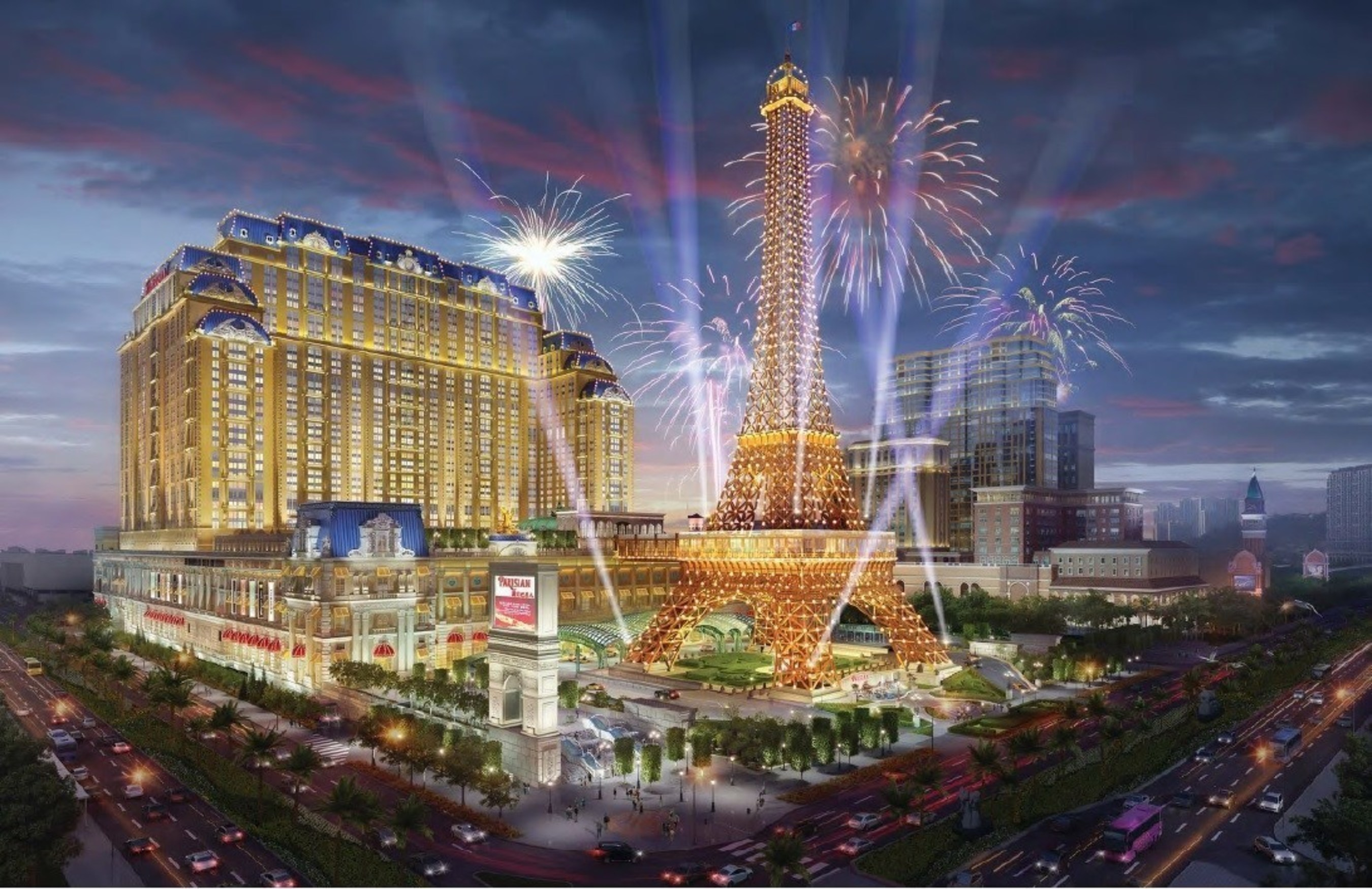 Sands China Ltd. will open The Parisian Macao, its latest integrated resort, on Tuesday, Sept. 13, 2016. Featuring a full array of integrated resort facilities, the property brings the company's portfolio to 13,000 hotel rooms, more than 850 duty free shops, Macao's most comprehensive MICE offering, more than 160 food and beverage outlets and restaurants, along with world-class entertainment.
