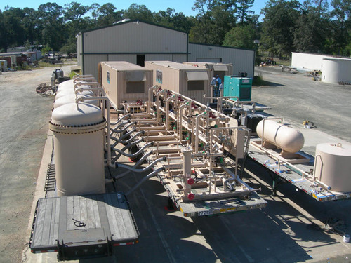 IACX Energy Designs and Operates the World's First Mobile Nitrogen Rejection Unit for Nitrogen Frac