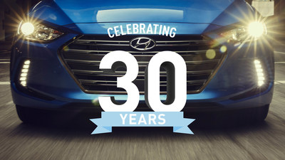 Hyundai Motor America Celebrates 30 Years in the United States - Anniversary Marked by Monumental Milestones and All-New Products
