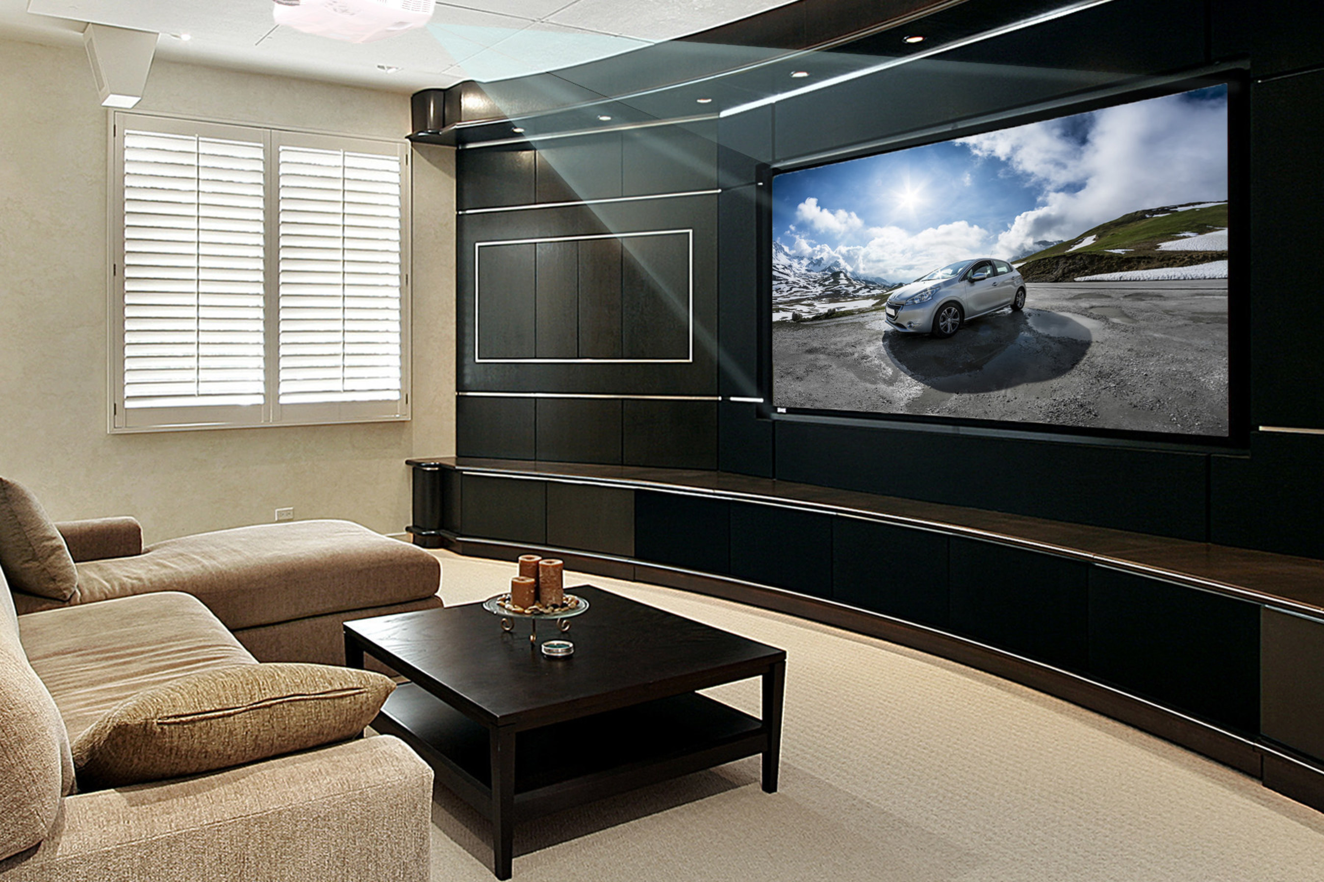 DLP technology combines speed and performance for accurate, razor sharp, 4K UHD projection displays.
