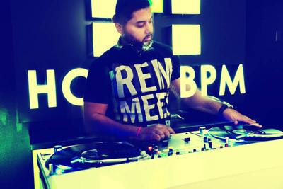 Hotel BPM Founder BIJAL Dropping Beats in Hotel's Lobby.  (PRNewsFoto/Hotel BPM)