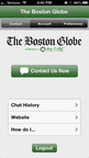 The Boston Globe My:Time App (PRNewsFoto/Contact Solutions)
