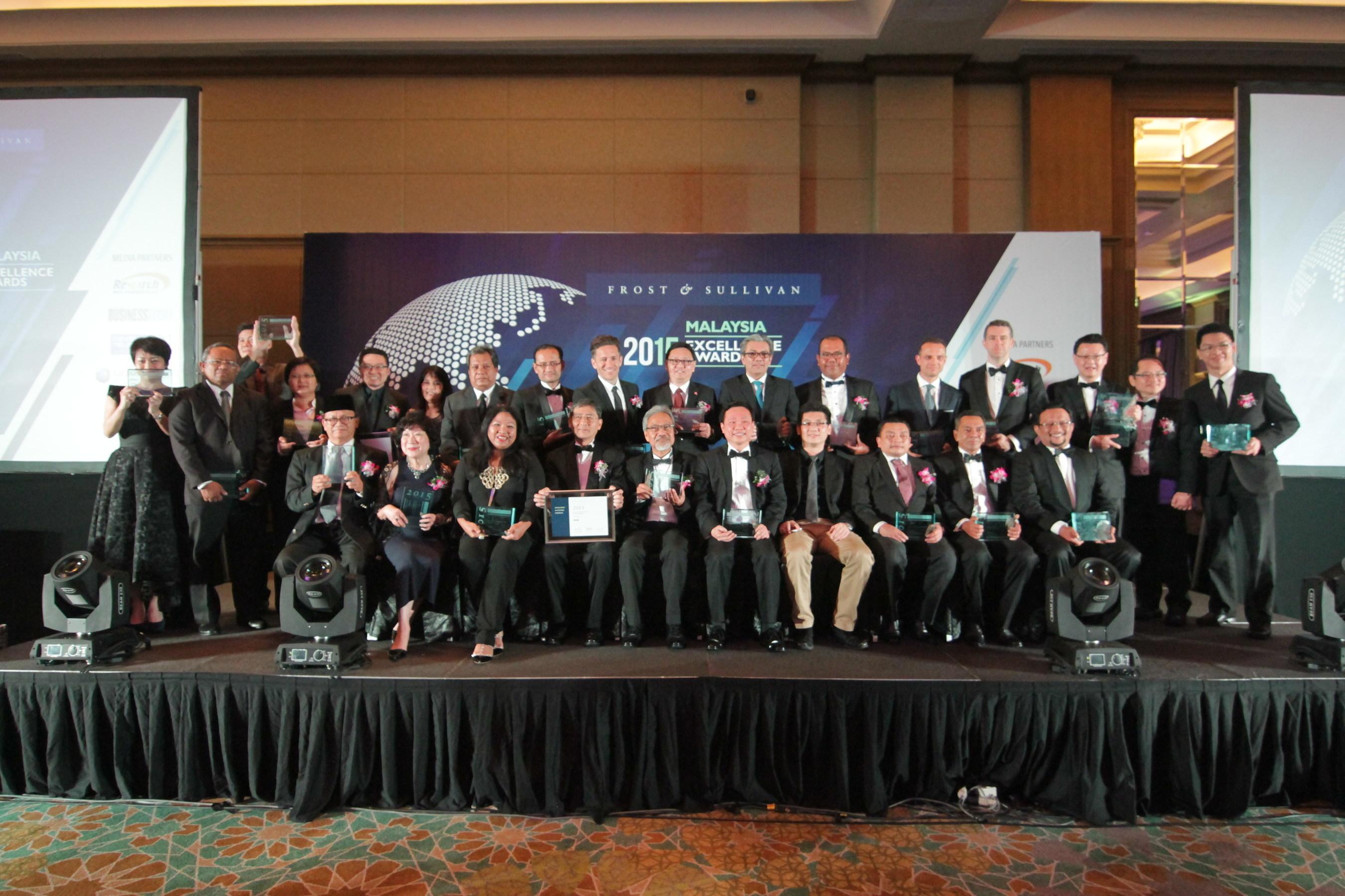 2015 Malaysia Excellence Award recipients