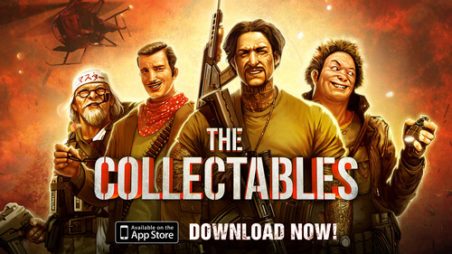 Crytek and DeNA Launch Mobile Action Game The Collectables. Available for free in the App Store now! (PRNewsFoto/Crytek and DeNA) (PRNewsFoto/CRYTEK AND DENA)