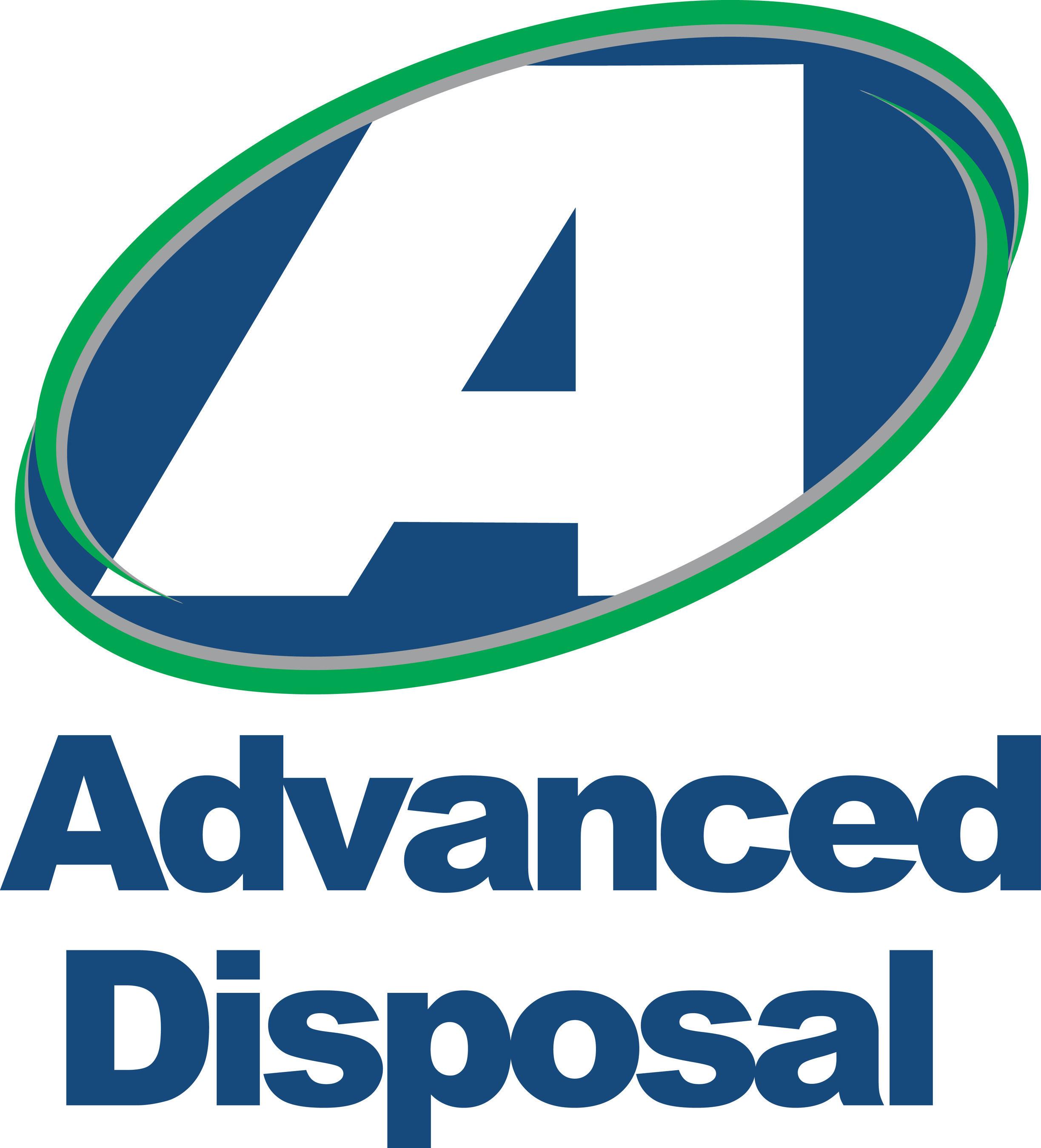 Advanced Disposal - Vertical 4C Logo