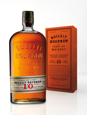 With an undeterred passion for excellent whiskey, Tom Bulleit, founder of one of America's fastest growing small batch whiskies, officially announced today the availability of his selected reserve - Bulleit(R) 10 Years Old. Bulleit(R) 10 is available nationwide for a suggested retail price of $44.99 for a 750 ml bottle. (PRNewsFoto/Diageo) (PRNewsFoto/DIAGEO)