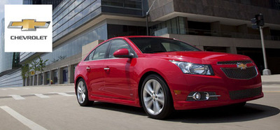 The 2014 Chevy Cruze now available at Mike Castrucci Chevrolet is poised to take on all of the European diesel sedans that have been slowly becoming more popular.  (PRNewsFoto/Mike Castrucci Chevrolet)