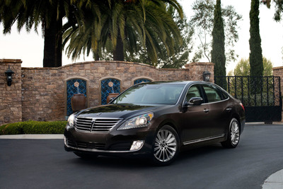 Hyundai Equus Named To Ward's 10 Best Interiors List.  (PRNewsFoto/Hyundai Motor America)