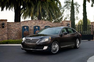 Hyundai Equus Named To Ward's 10 Best Interiors List.  (PRNewsFoto/Hyundai Motor America)