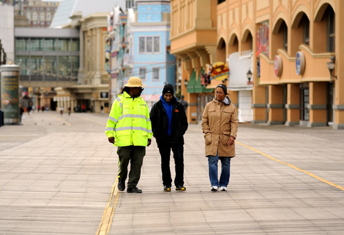 Iconic Atlantic City Boardwalk Undamaged By Hurricane Sandy, Fully Open For Visitors.  (PRNewsFoto/Atlantic ...