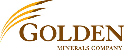 Golden Minerals Company News Release Logo.