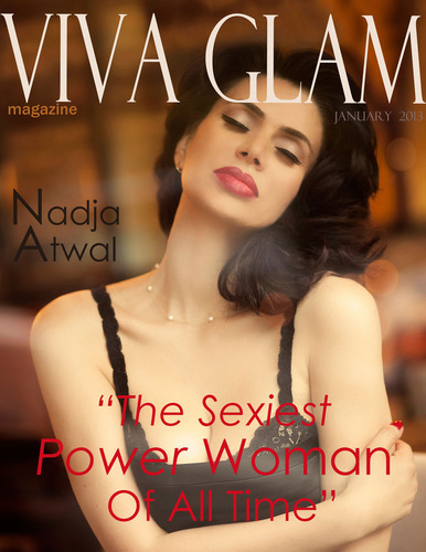 Top US magazine names German business woman Nadja Atwal 'The Sexiest Power Woman Of All Time'
