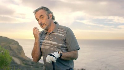 "Host of the Feherty Show and CBS golf analyst David Feherty uses his signature wit and colorful personality to provide ""driving tips"" in Hyundai's new golf advertisements."