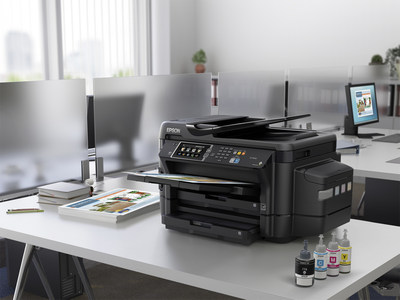 Epson EcoTank printers offer revolutionary cartridge-free printing with easy-to-fill supersized ink tanks. The new models include up to two years of ink in the box -- enough to print up to 10,500 black/11,000 color pages, and equivalent to about 50 ink cartridge sets